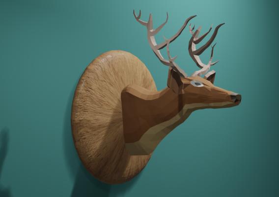 Deer Low Poly