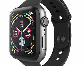 Apple Watch Series 4 Sport 44mm SpaceGrey 3D model