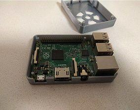 Rapberry Pi 3 B-plus Case 3D printable model
