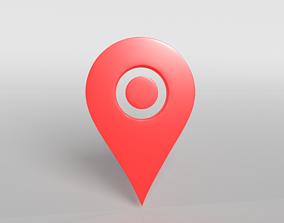 Map Tag v2 003 3D asset