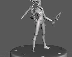 KDA All out Akali 3D Model