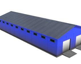 3D model Trading warehouse