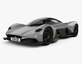 Aston Martin AM-RB 2018 martin 3D model