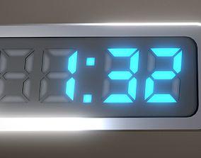 5-4-3-2-1-Video-Countdown-Simple-Version 3D asset