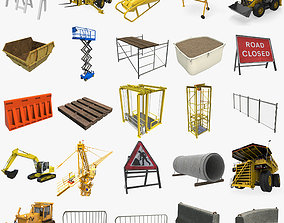 Construction Collection 3D asset