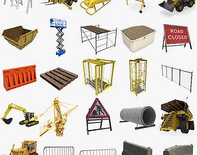 Construction Collection 3D asset
