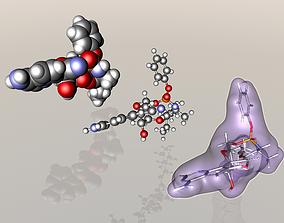 3D model Remdesivir molecule
