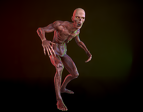 Zombie 3D asset animated realtime