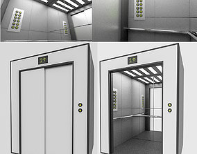 3D Elevator game-ready