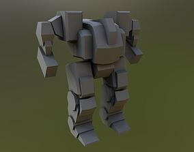 3D model Humanoid Mech