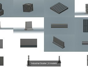 3D model Industrial Scatter