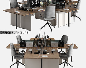 office furniture 07 3D model