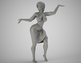 3D printable model Fire Dance