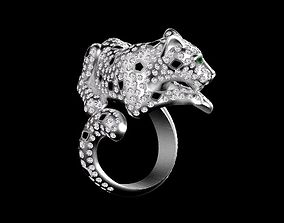 cat ring female 3D print model