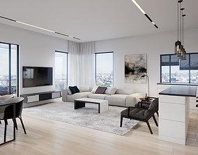 interior Modern Interior 3D model