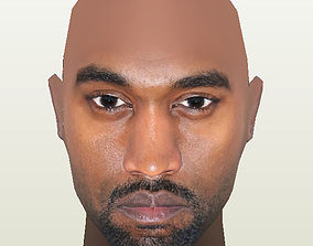 Kanye West 3D asset