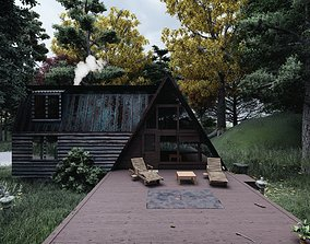 The House In The Woods 3D model