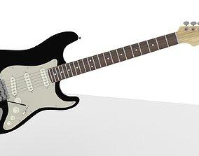 3D model electric Electric Guitar