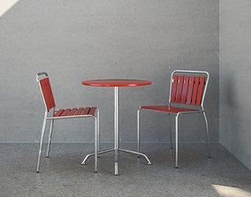 3D Haefeli Chair and Table