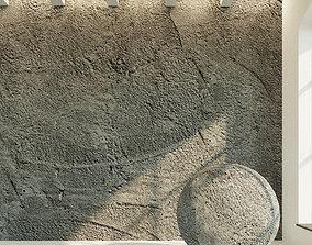 3D model Concrete wall Old concrete 50