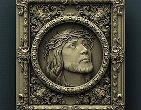 amazing jesus christ for artcam and aspire models 3D