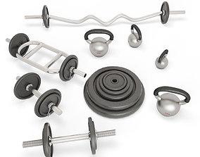 3D model Dumbbell Fitness