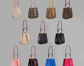 3D model Louis Vuitton Neonoe MM Bag