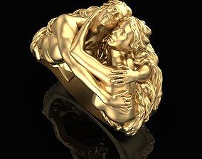 Ring of Embrace 3D printable model sterling