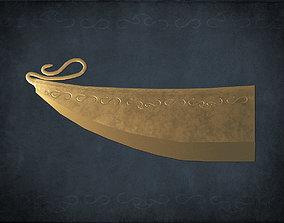 3D model Bronze Age razor