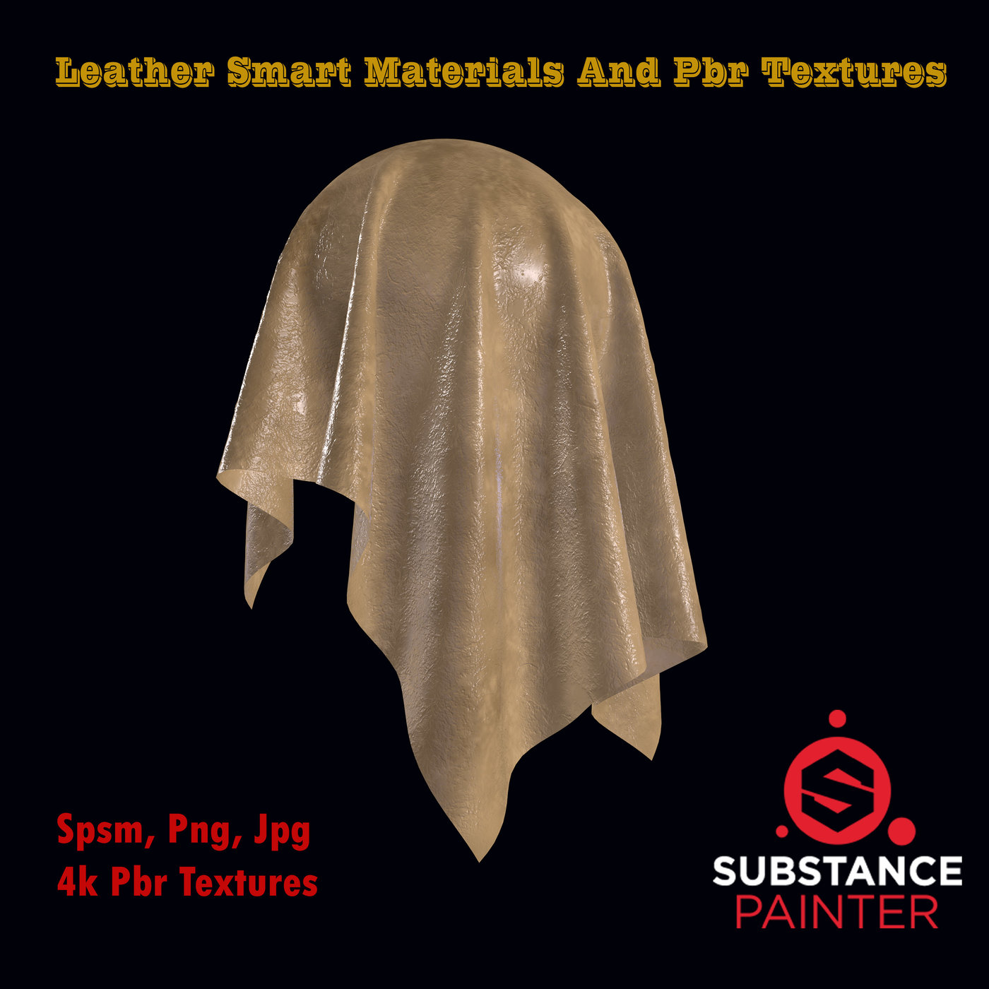 Leather Smart material and PBR Textures