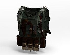 Bullet Proof Vest Protection and stuff 3D model