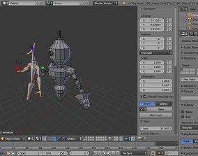 Sentinel robot - Musco 3D asset