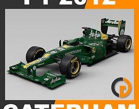 F1 2012 Caterham CT01 petrov 3D model