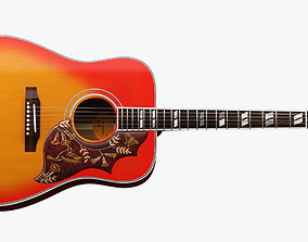 3D model Gibson Hummingbird Guitar