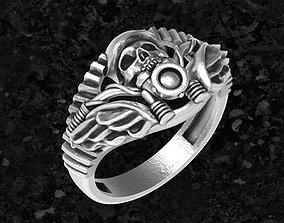 3D printable model jewelry Ring-moto2