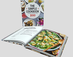 Cooking Book 3D model