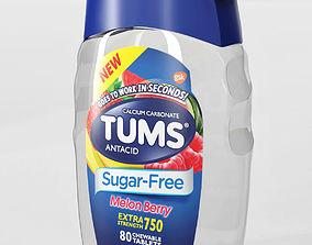 4 models packaging Tums