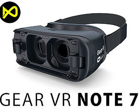 Samsung Gear VR For Galaxy Note 7 3D model