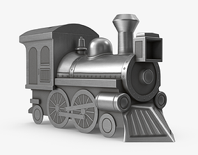 3D model Moneybox Locomotive