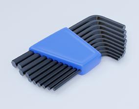 Allen Keys 3D asset