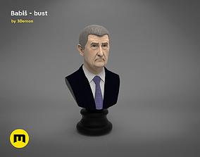 Babis - Czech premier bust 3D PRINT MODEL
