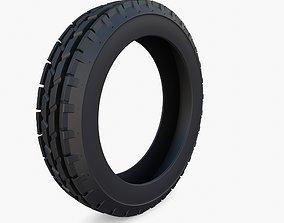 3D Tractor Tire v1