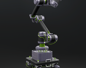 3D Robot arm prosthesis manipulator with suction cup base