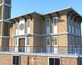 Mosque Modern 3D model