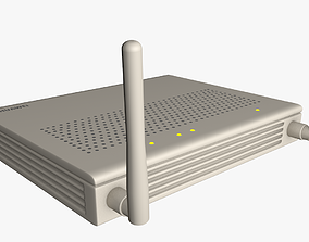 WI-FI Router 3D model