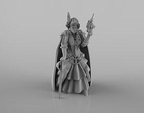 3D printable model Lady Antonietta - Female Gang Leader