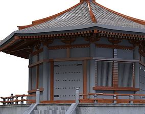 Asian Temple 3D asset realtime