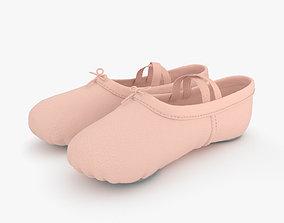 3D model Ballet Shoes