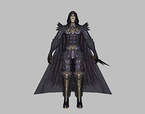 3D asset Death Knight Man Character