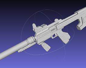 Halo ODST SMG Basic Model 3D